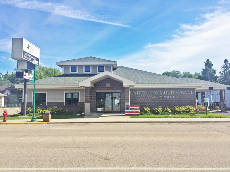 United Community Bank Frazee branch location